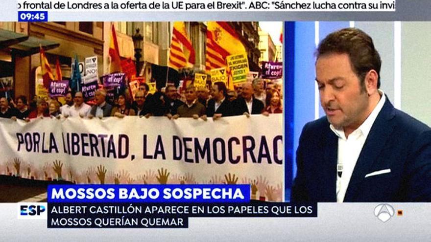 """Albert Castillón en el programa """"Espejo Público"""""""