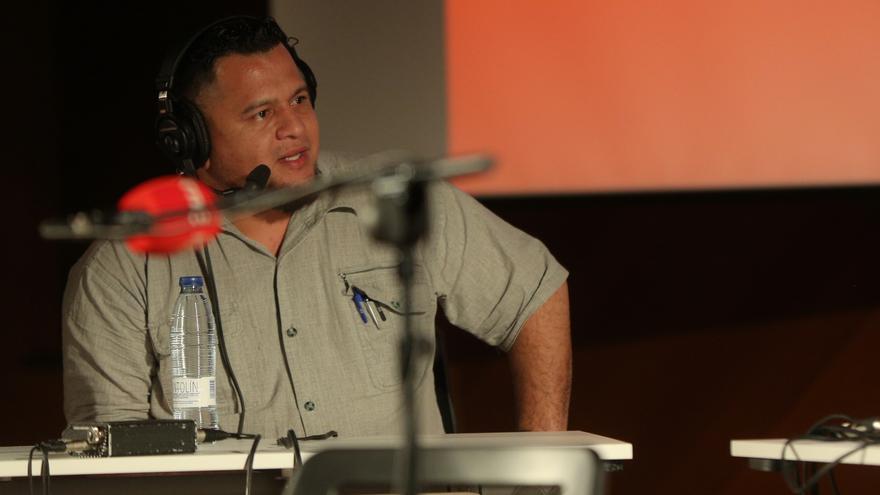 Eddy López Hernández, periodista nicaragüense.