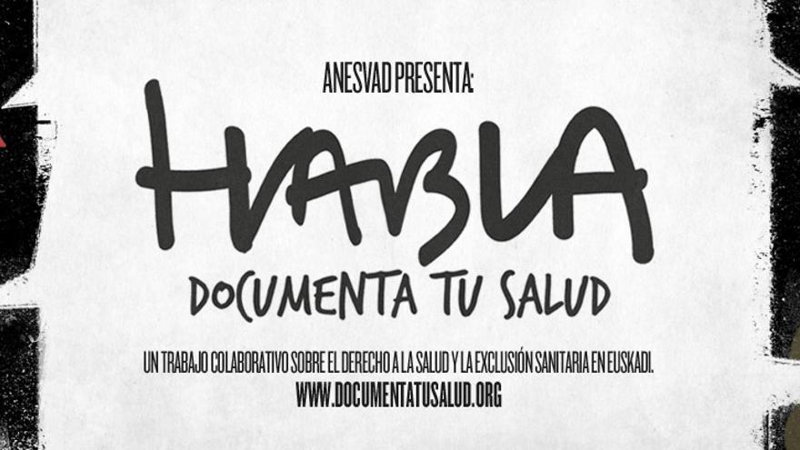 Cartel del documental 'Habla: documenta tu salud'