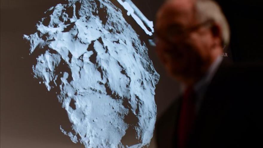 El cometa 67/P Churyumov-Gerasimenko es duro como el hielo y tiene moléculas