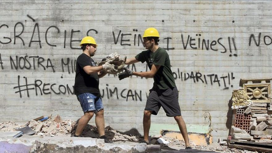 Fiscal pide casi seis años para 13 manifestantes por los disturbios de Can Vies