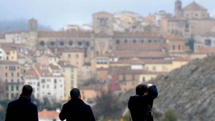 Turistas en Cuenca
