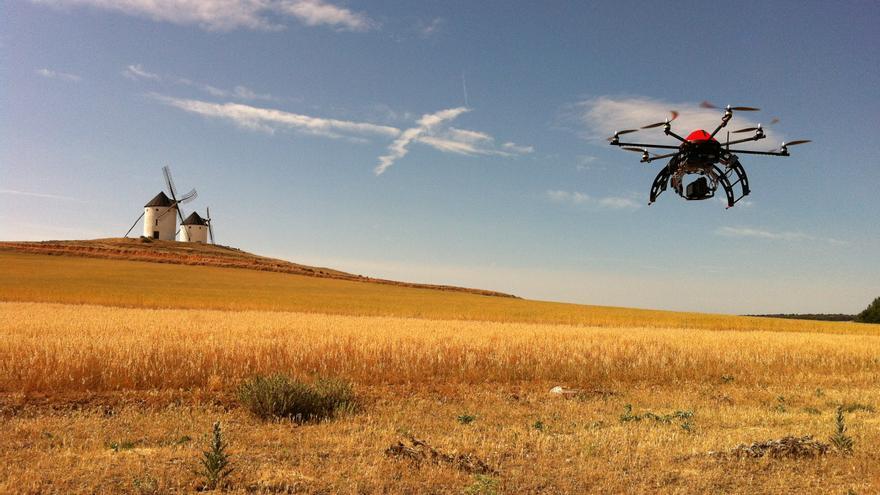 Los rodajes con drones en España, una incógnita por regularizar