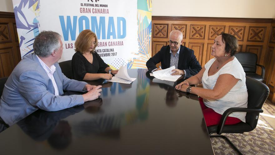Acuerdo entre WOMAD y TVE