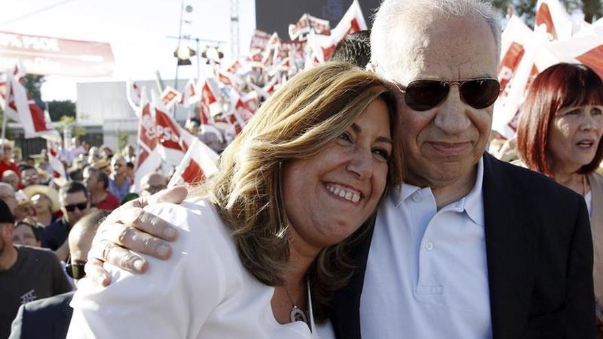 Susana Díaz promete unidad y asegura que el PSOE será respetado si lo lidera