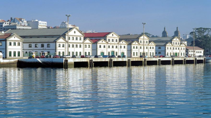 Exterior del Arsenal de Ferrol