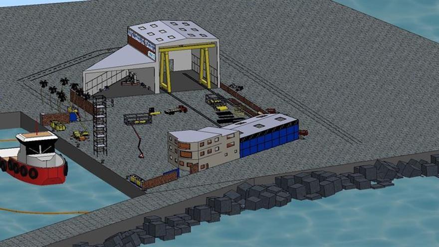 La nueva instalación estará en una parcela de 12.048,76 metros cuadrados en los nuevos rellenos del Dique del Este.