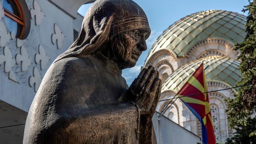 Skopje, la ciudad natal de la Madre Teresa se prepara para su canonización