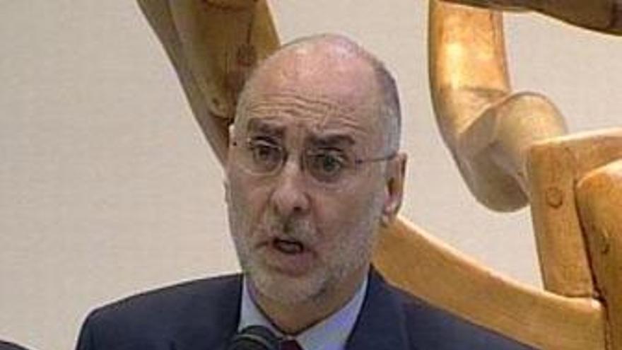 El portavoz de la Ejecutiva del PSE EE, Rodolfo Ares