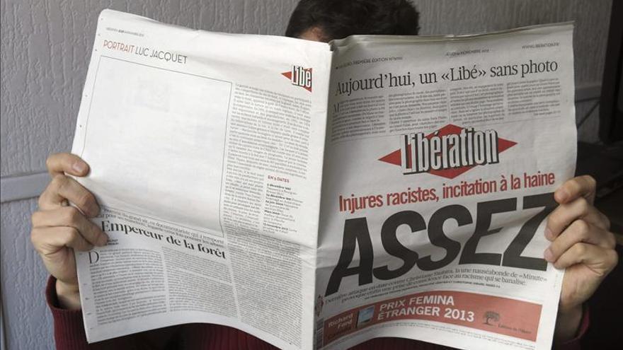 """Un fotógrafo resulta herido tras un tiroteo en la sede del diario """"Libération"""""""