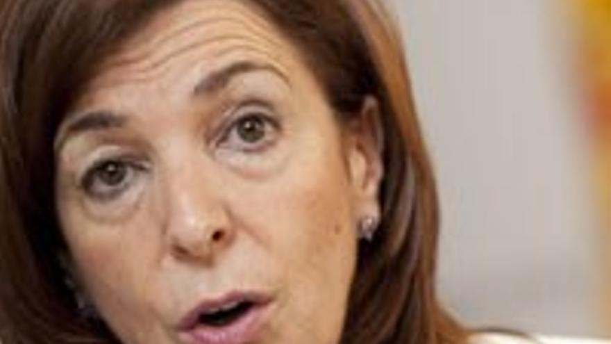 Margarita Ramos, consejera de Empleo de Canarias.