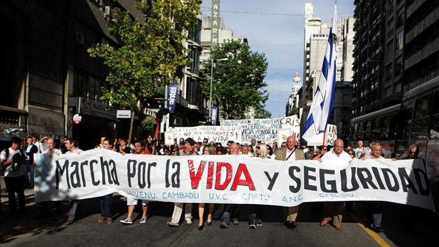 Uruguay, un país abrumado por la inseguridad pese a su baja tasa de delitos
