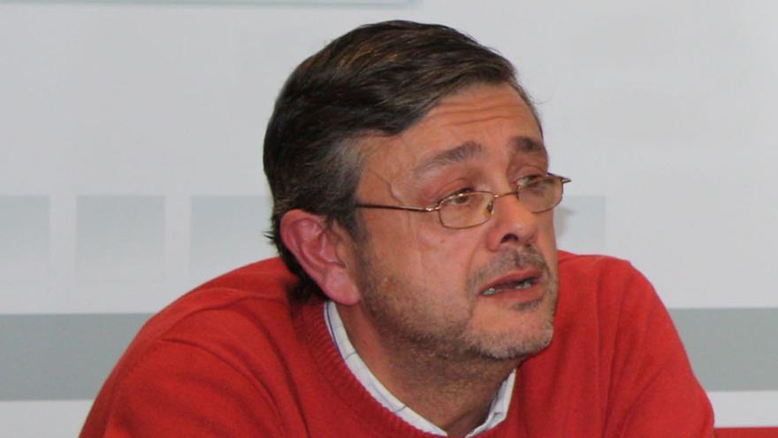 José Luis Gómez-Ocaña, presidente de la Plataforma en Defensa de la Ley de Dependencia de Castilla-La Mancha / Foto: PSOE CLM