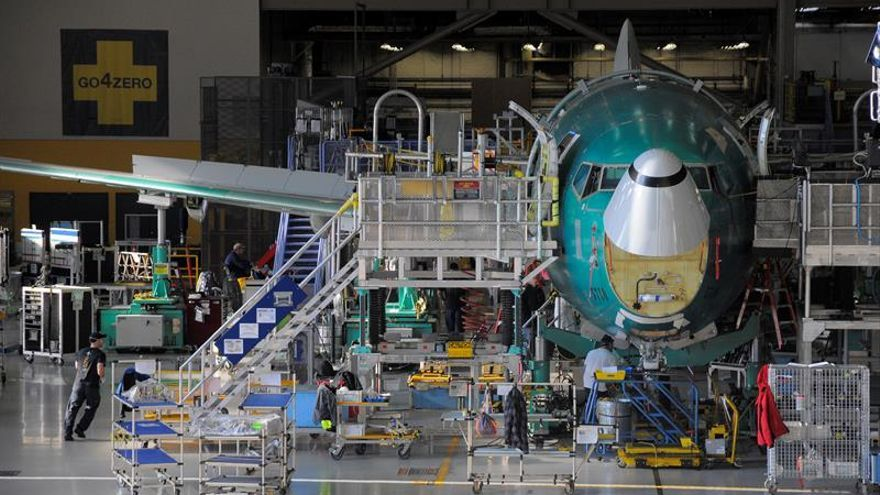 Boeing bate su récord de entrega de aviones con 806 durante 2018