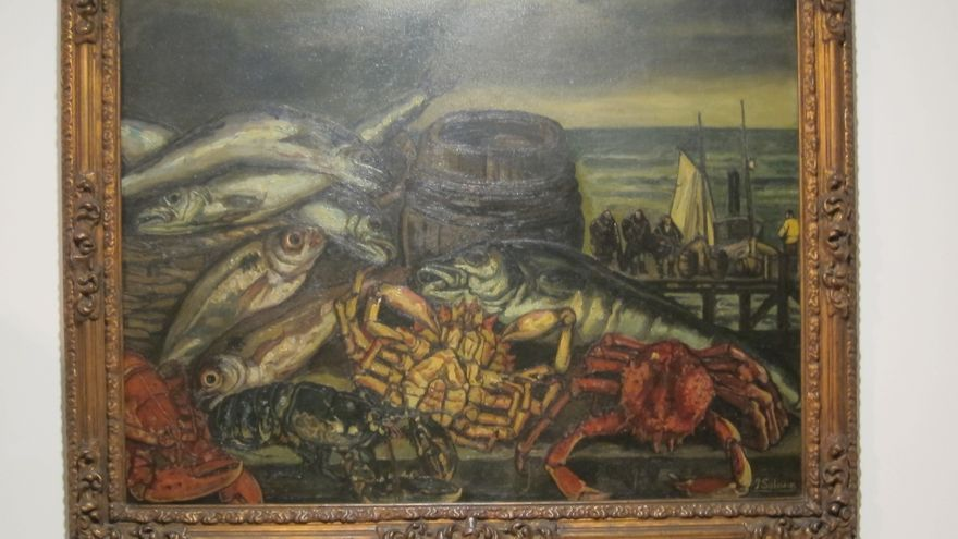 El MAS exhibe 'Bodegón con marina', obra de Solana donada al museo