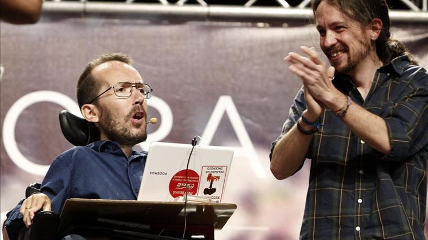 """Iglesias: """"Necesitamos a Pablo Echenique, un ciudadano haciendo política"""""""