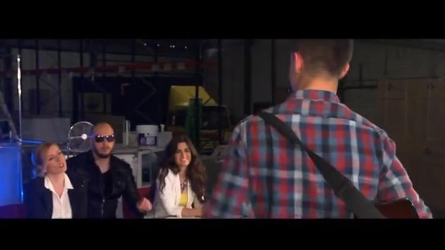 Captura de pantalla del video de campaña de Monago