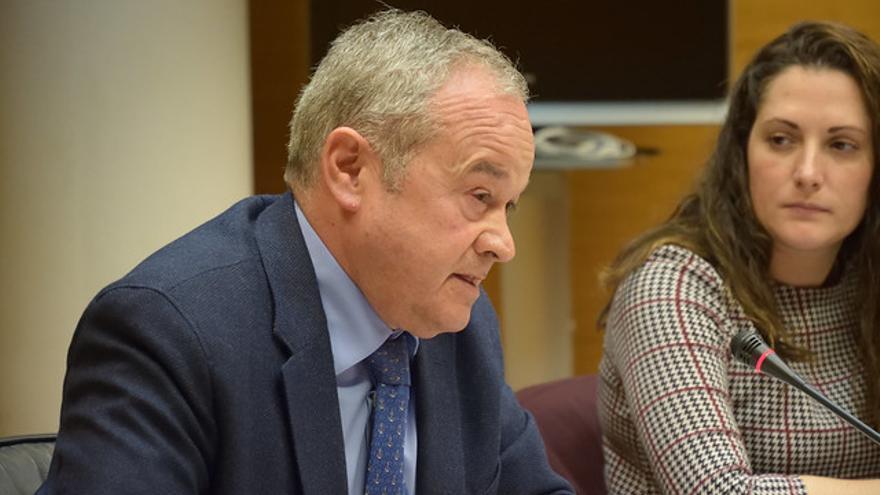 El viceinterventor que auditó Ciegsa durante la comisión de investigación de las Corts