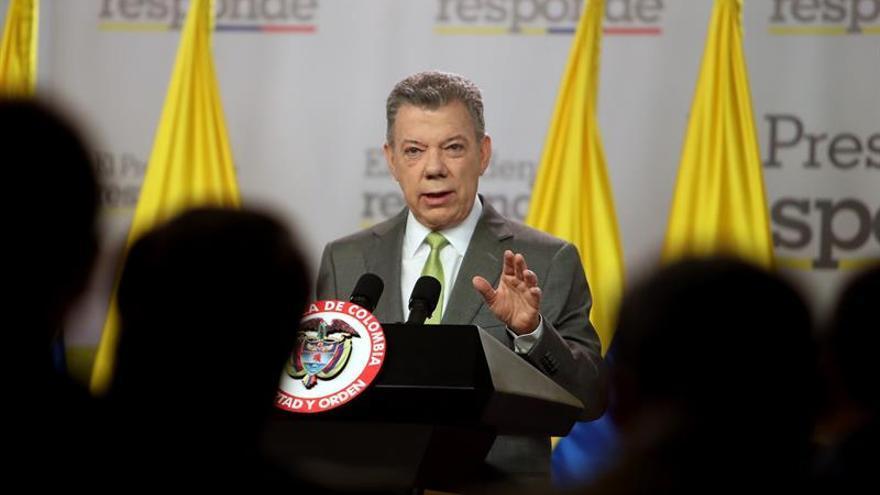 El presidente Santos envía condolencias a EE.UU. por el tiroteo en Texas