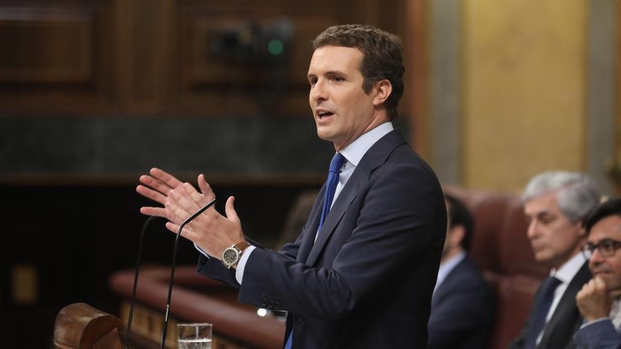 Pablo Casado interviene en el Congreso de los Diputados