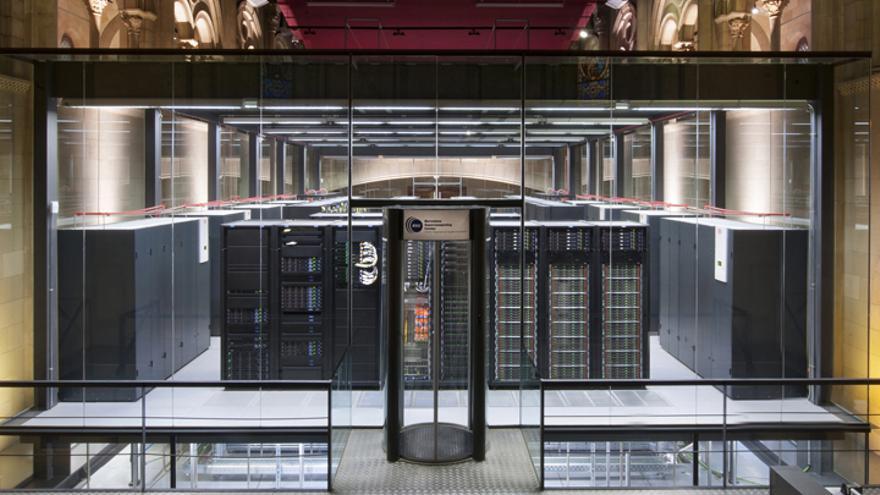 Una capilla barcelonesa desacralizada alberga el ordenador MareNostrum