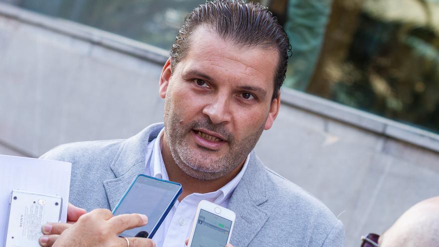 El concejal socialista del ayuntamiento de Santa Cruz de Tenerife, José Ángel Martín (Aarón S. Ramos)