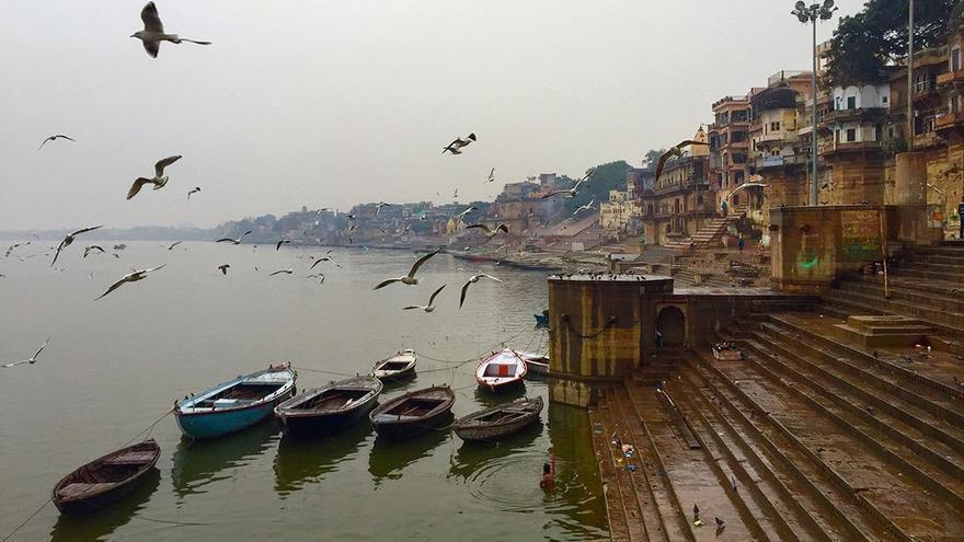 La ciudad de Benarés está situada a orillas del río Ganges. CANARIAS AHORA