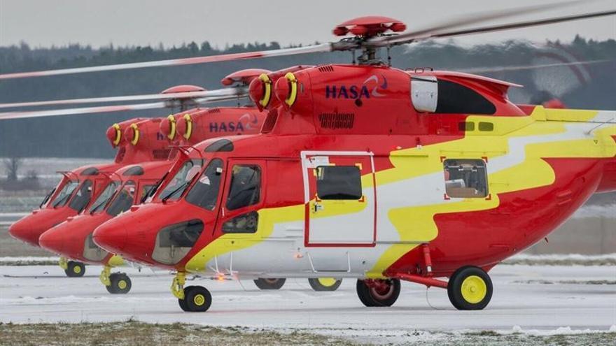 Canarias dispone de tres nuevos helicópteros de búsqueda, rescate y lucha contra incendios forestales (Europa Press)