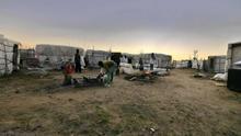 Imagen de un asentamiento chabolista de la provincia de Huelva