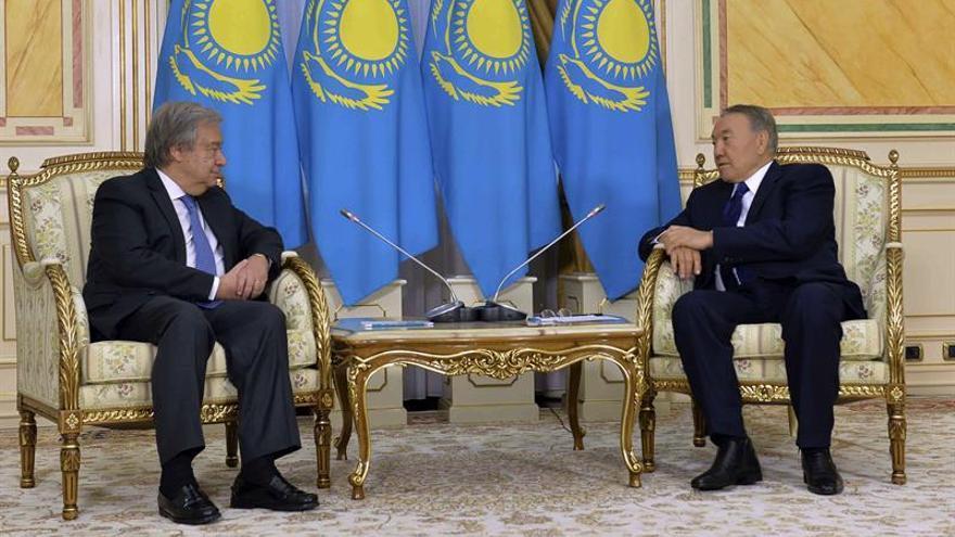 La ONU y Kazajistán esperan una fructífera cooperación durante el mandato de Guterres