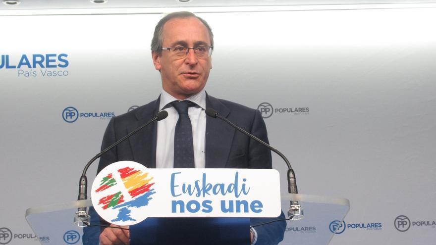 Alonso (PP) duda que Darpón siga como consejero la semana que viene, cuando se producirá su reprobación en el Parlamento