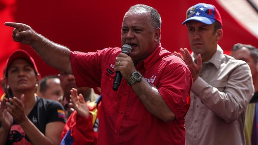 """Cabello llama """"hipócrita"""" a México por apoyar la aplicación de la Carta a Venezuela"""