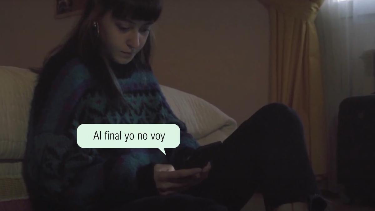 Captura del vídeo elaborado por el Centro de la Mujer de Consuegra