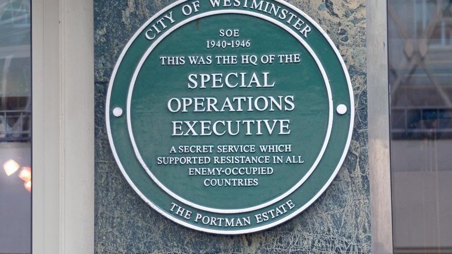 Cuartel general del SOE en la Baker Street de Londres