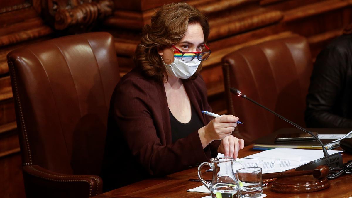 La alcaldesa de Barcelona, Ada Colau. EFE/Quique García/Archivo