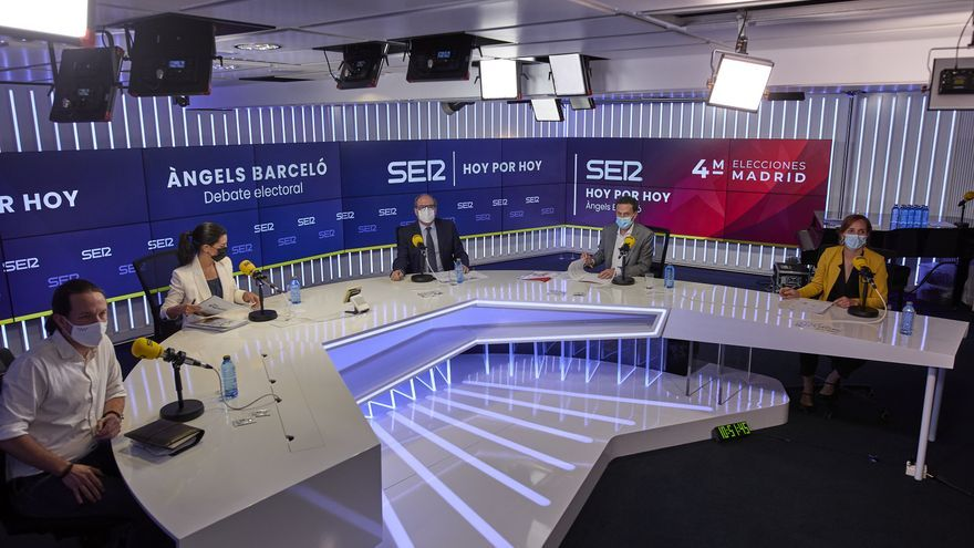 Debate en la Ser sobre las elecciones del 4M