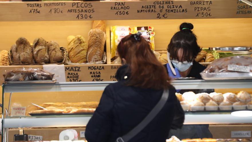 Compra en una panadería