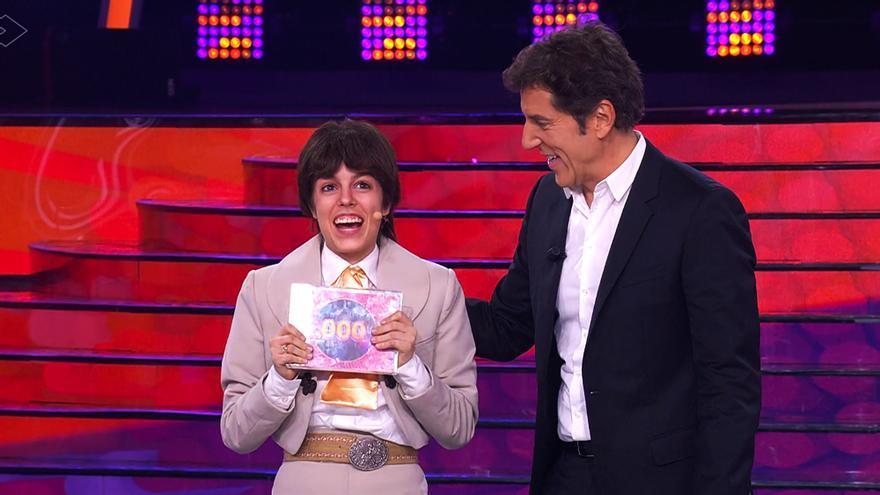 Nerea Rodríguez tras ganar la sexta gala de 'Tu cara me suena 8'