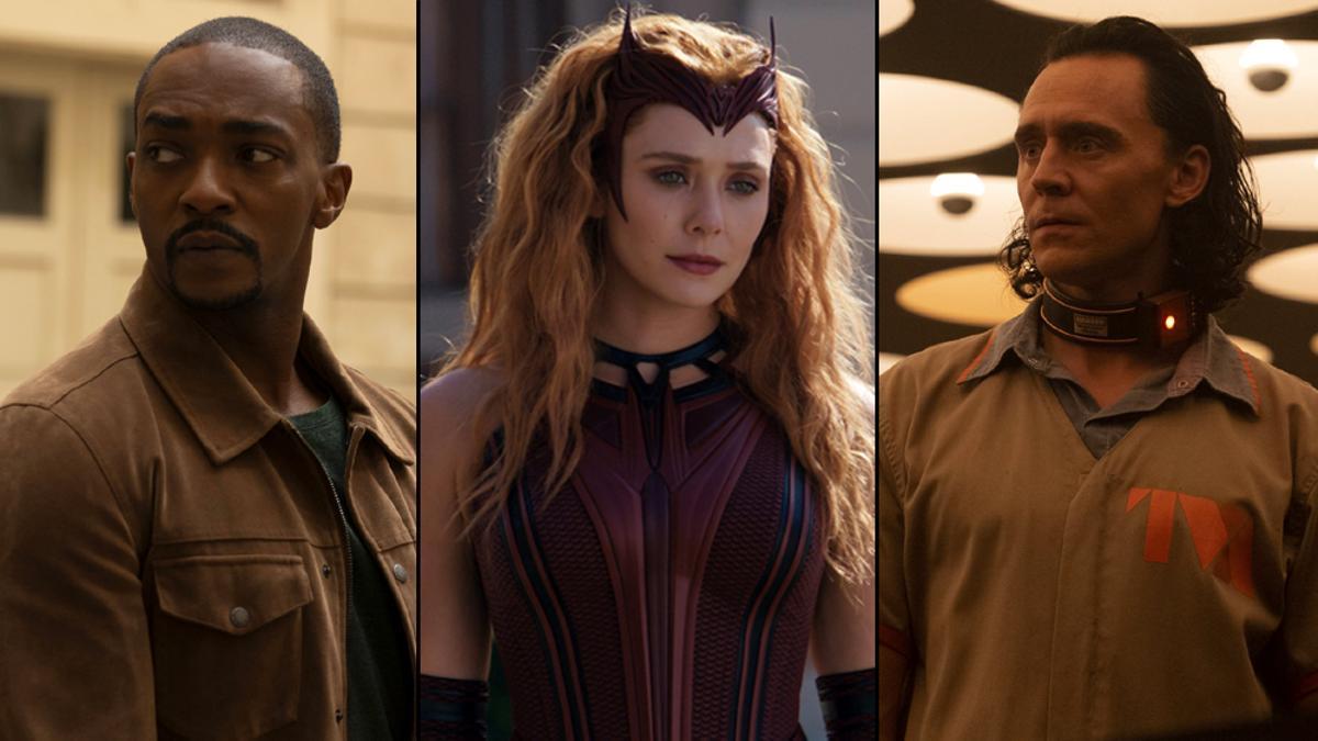 Falcon, Wanda y Loki