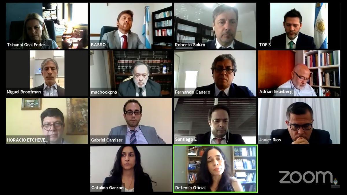Audiencia virtual de este miércoles por el juicio a Telledín.
