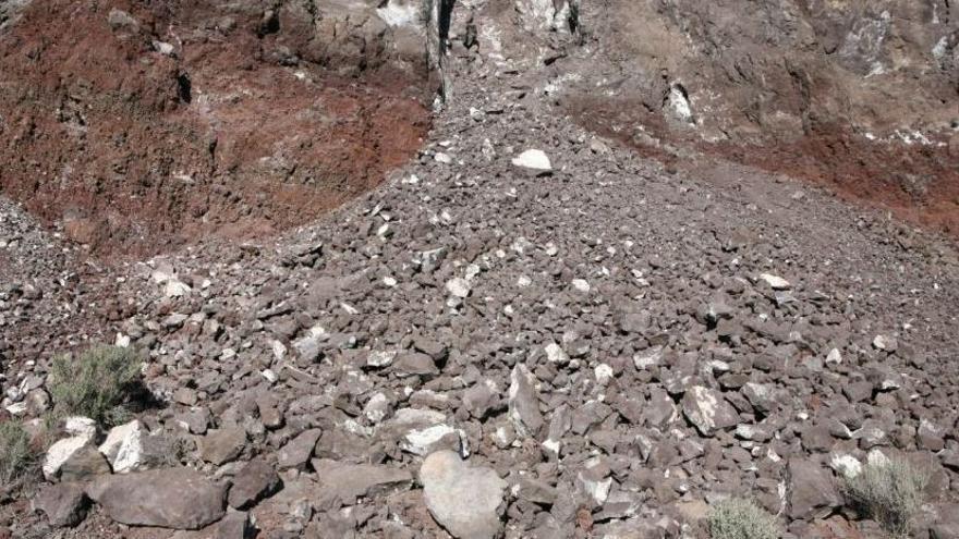 Lara Almarcegui. Volcán de Agras. Derechos mineros