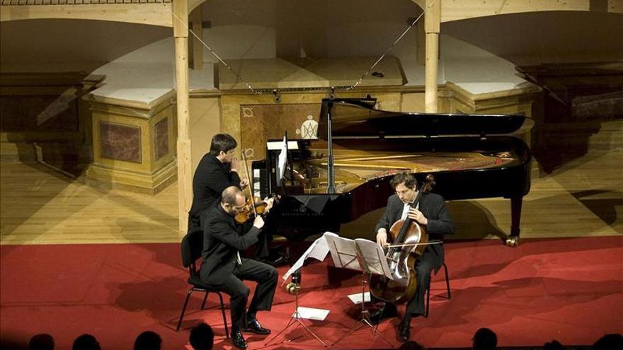 Benet Casablancas y el Trío Arbós, Premios Nacionales de Música 2013