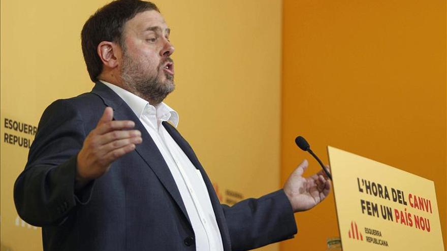 Junqueras dice que ERC apartará temporalmente sus siglas para hacer una lista de país