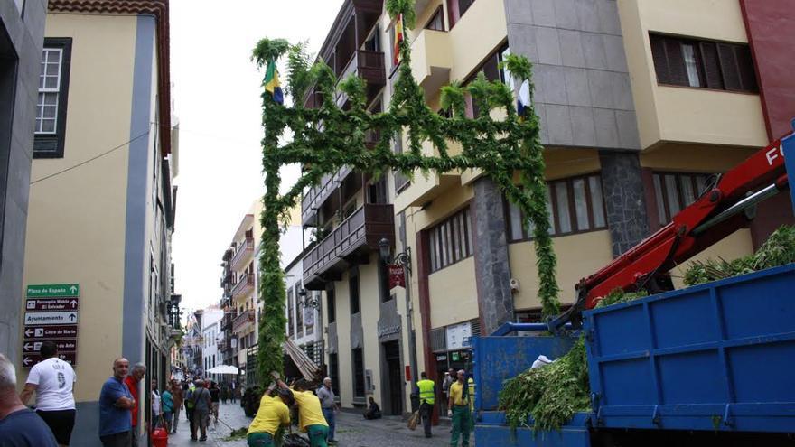 La Calle Real contará con el adorno de ocho arcos procedentes de las fiestas de San Antonio del Monte.
