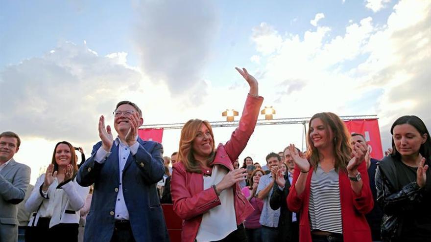 Díaz rechaza el voto del insulto y pide el de militantes que quieren al PSOE