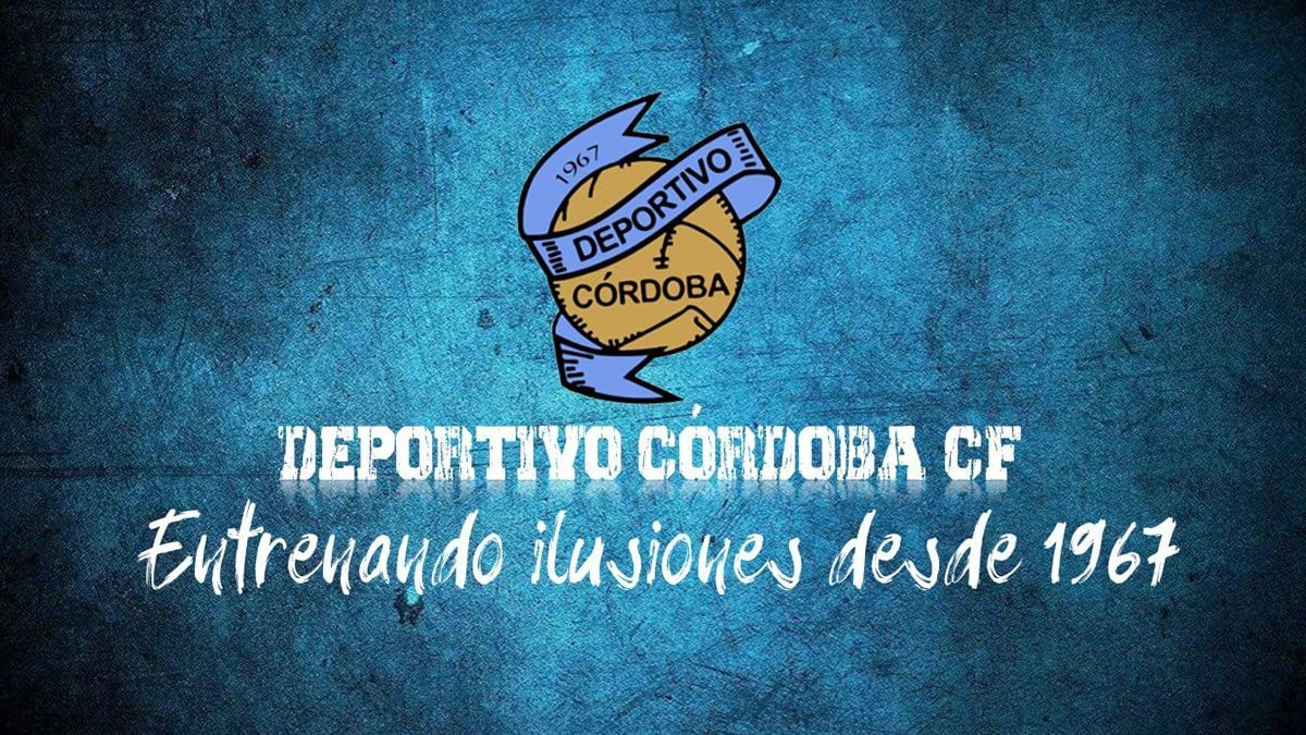 Cartel del Deportivo Córdoba CF