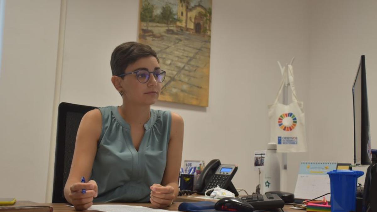 Sara Cabello, concejala de Hacienda de El Rosario