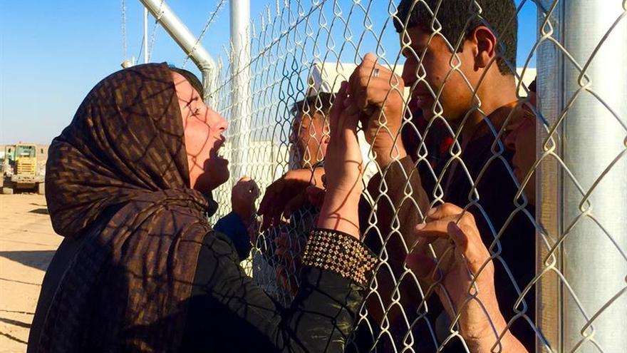Los desplazados en la operación de Mosul superan los 76.000, según la ONU