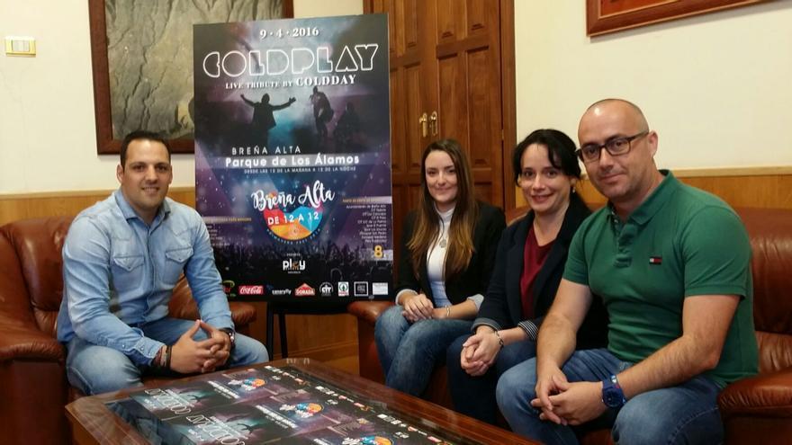 De izquierda a derecha, Jonathan Felipe, Dahiva Hernández, Patricia Ayut y Raúl Ramos.