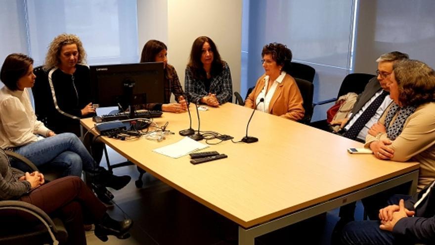 Visita a los equipos que trabajan con menores en conflicto